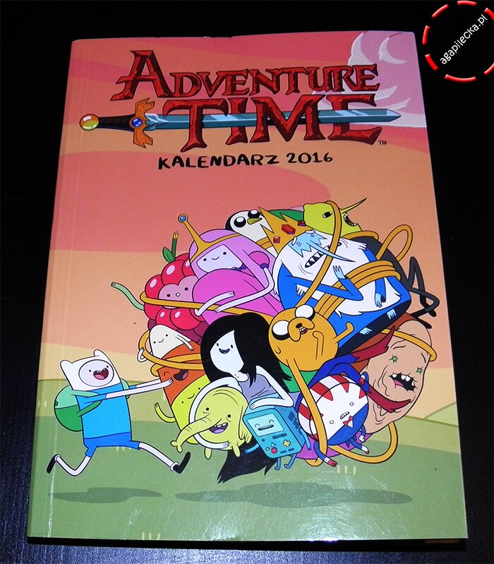adventure time kalendarz