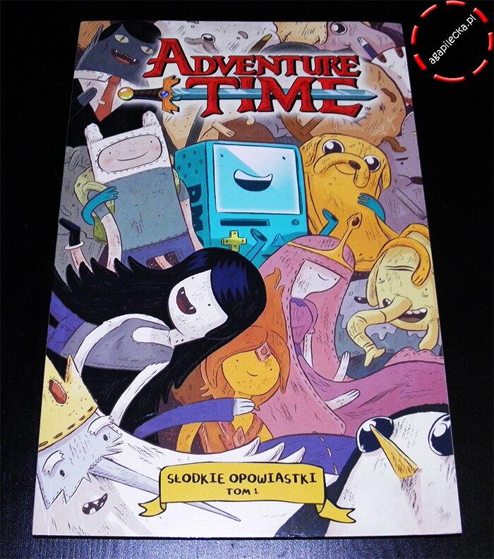 adventure time slodkie opowiastki - tom 1