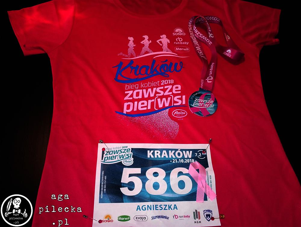 biegkobiet krakow tshirt