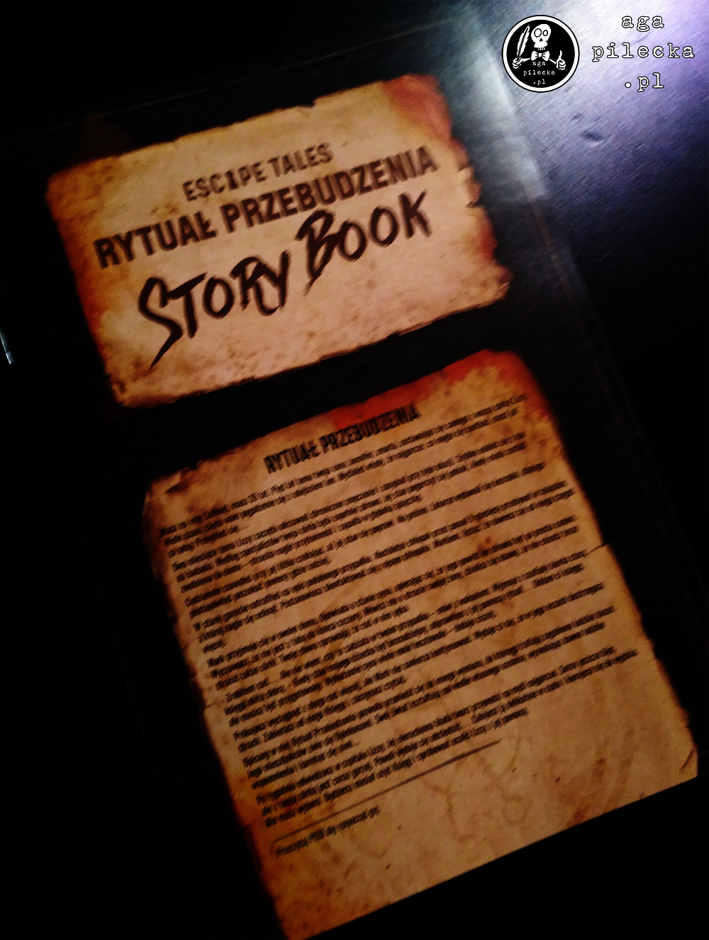 rytuał story book