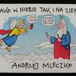 Jako w niebie tak i na ziemi – Andrzej Mleczko